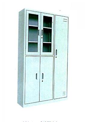 YH-37玻璃更衣柜
